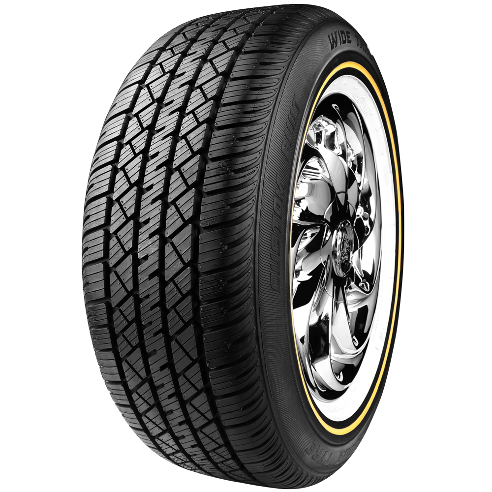 Snow And Mud Tires >> TireStyles.com | 235/60R16 100H Wide Trac Touring Tyre II White/Gold - TireStyles.com