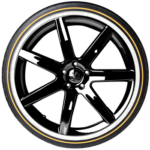 Vogue CBR VIII White/Gold Tyre