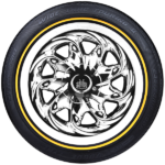 Vogue CBR Wide Trac Touring Tyre II White/Gold